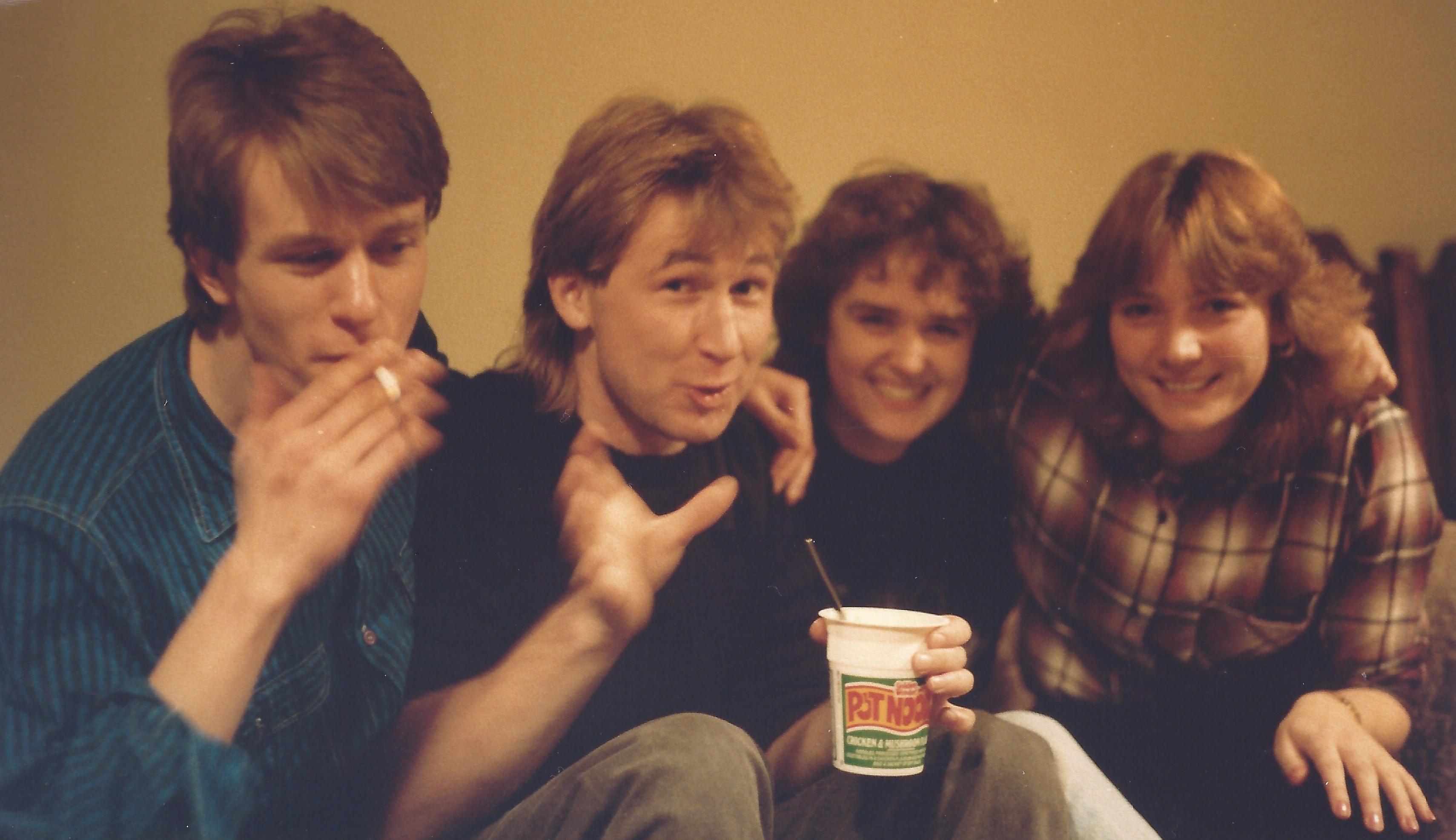 Jeff, Vince, Theresa & Jackie