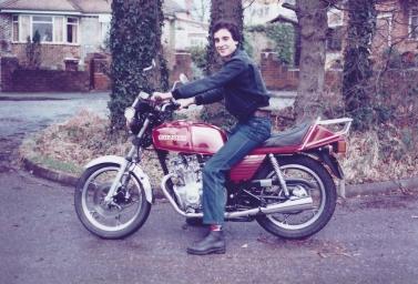 Kevin on Suzuki GSX250